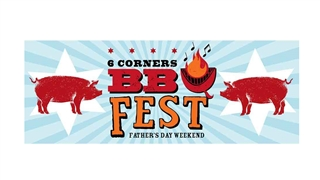 6 Corners BBQ Fest in Chicago IL poster