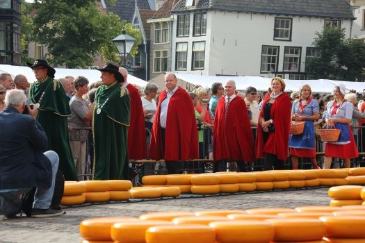 Alkmaar cheese market - Photo by: www.vvvhartvannoordholland.nl