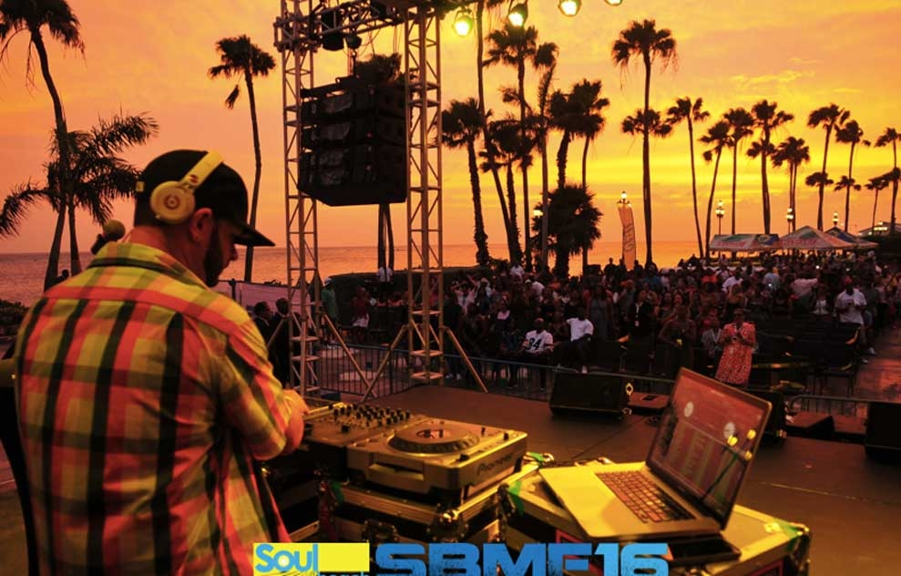 Aruba Soul Beach Music Festival - Photo by: www.soulbeach.net