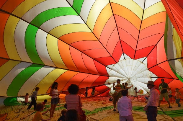 Balloon festival - Photo by: Kevin Connors