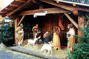 Nativity Play in Bolzano Christmas Marke - CarniFest Online Photo © All Rights Reserved