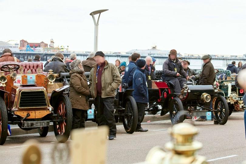 Bonhams London to Brighton Veteran Car Run supported by Hiscox - Photo by: www.veterancarrun.com