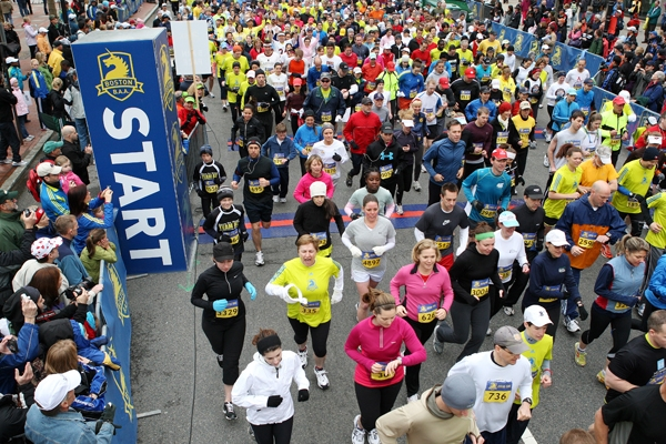 Boston marathon 2019 date in Perth