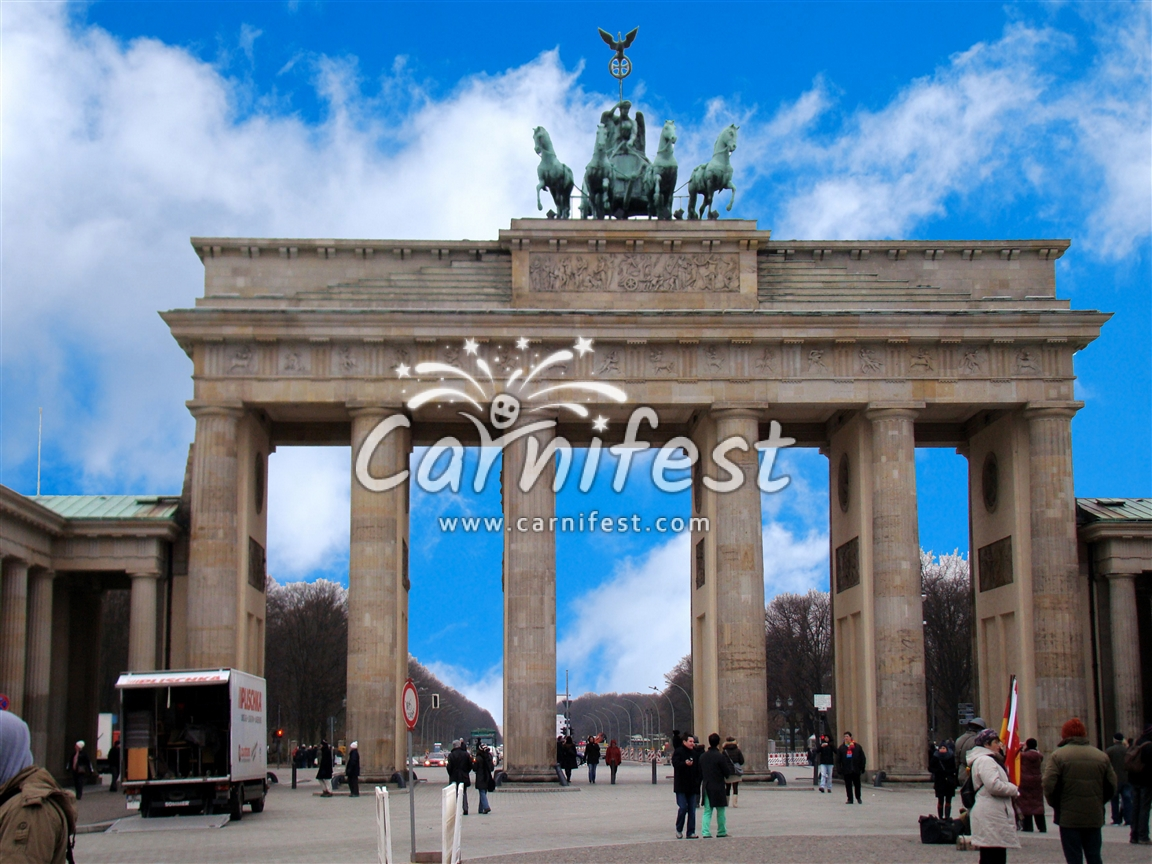 Brandenburger Tor - Berlin - CarniFest Online Photo © All Rights Reserved