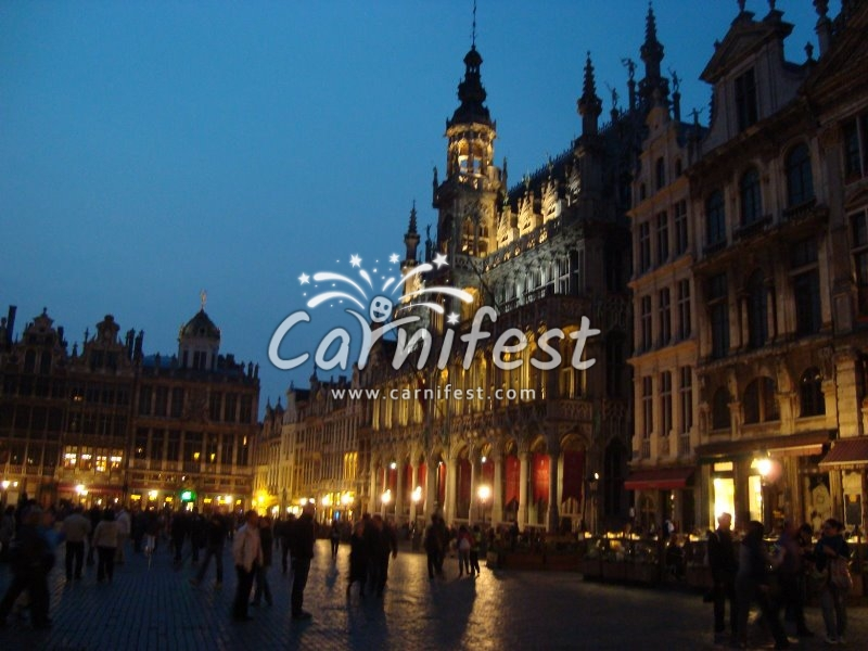 Brussels Belgium Grand-place - CarniFest Online Photo © All Rights Reserved