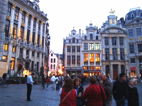 Brussels Belgium Grand-place
