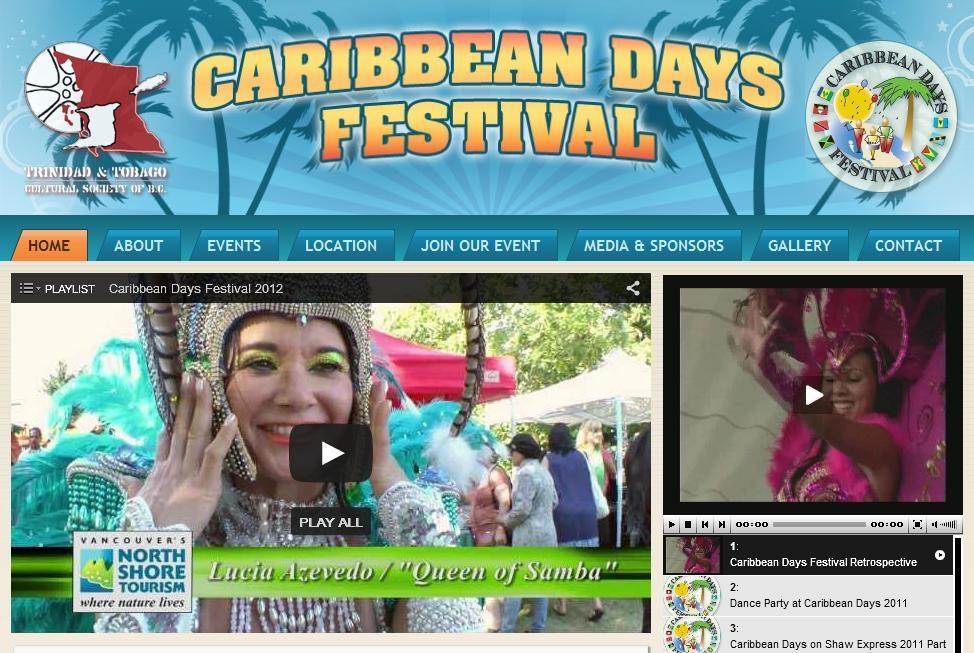 Caribbean Days Festival - Photo by: Caribbean Days Festival website / www.caribbeandays.ca