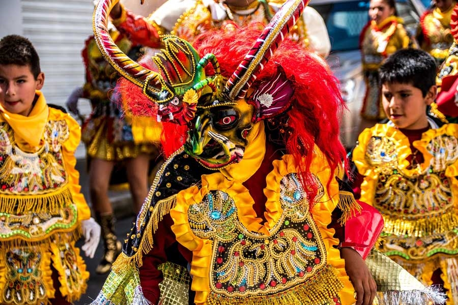 Carnival in Bolivia - Photo: Deutsch [via-pixabay.com]