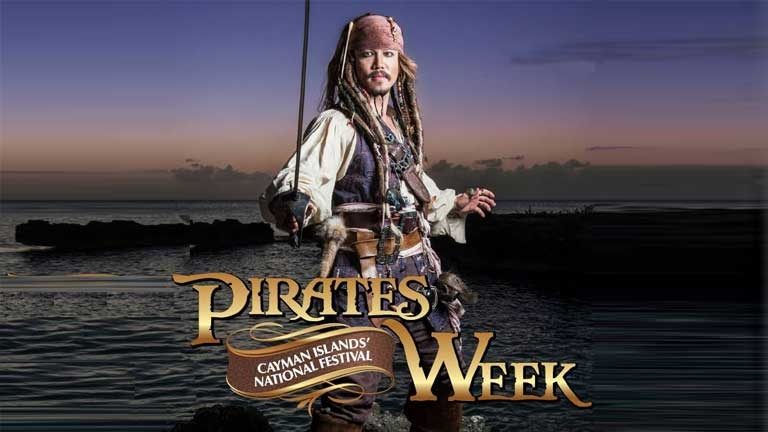 Cayman Islands Pirates Week Festival poster - Photo by: www.piratesweekfestival.com