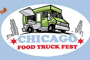 Chicago Food Truck Festival Poster - Photo by: www.chgofoodtruckfest.com