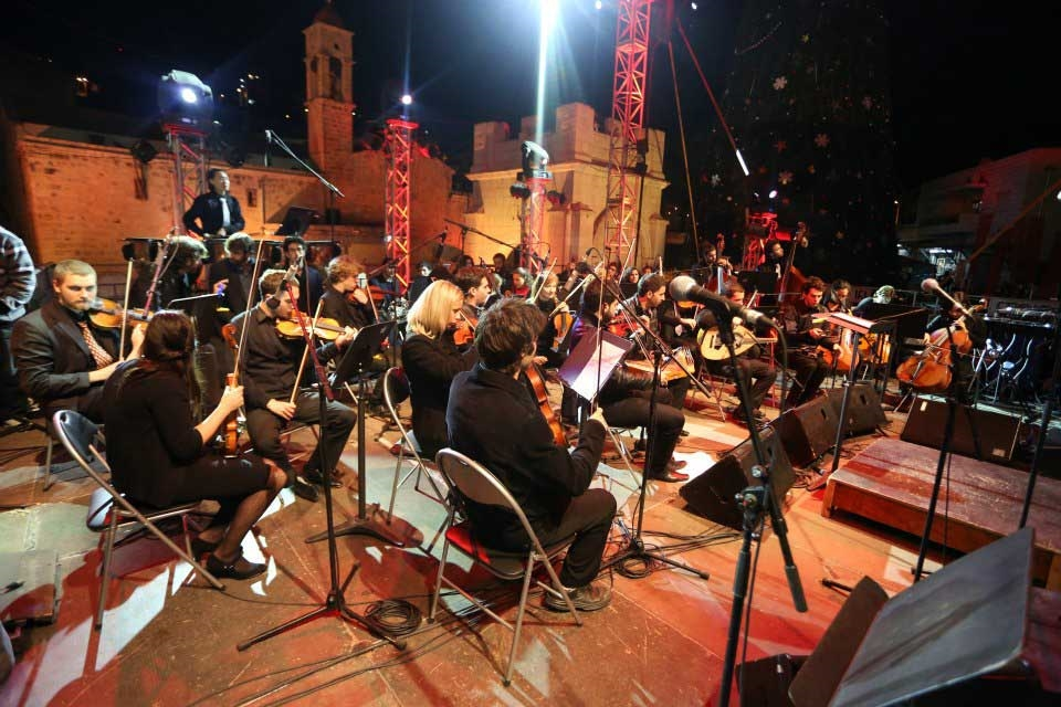 Christmas Events in Nazareth - Courtesy of Nazareth Cultural & Tourism Association. Photo: Ehab Hosari