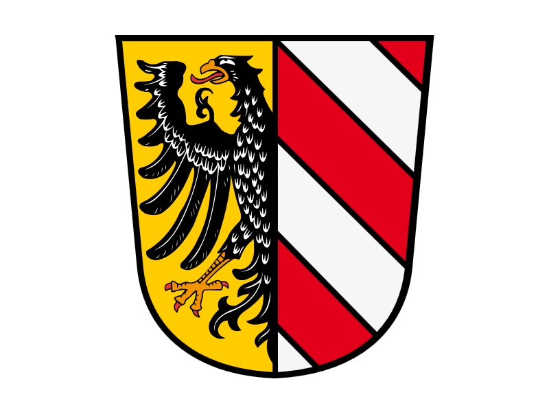 Coat of arms of Nuremberg - Germany