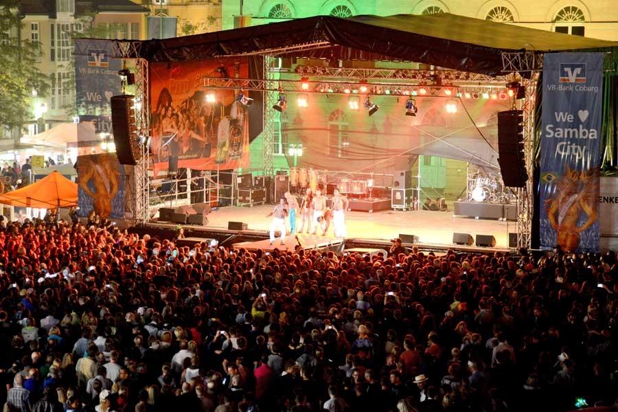 "Coburg's Samba Festival - Photo by: ""Sambaco"" / www.samba-festival.de"