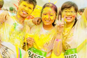 Color Me Run in Ho Chi Minh City - Photo by: colormerun.vn