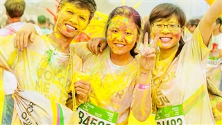 Color Me Run in Ho Chi Minh City