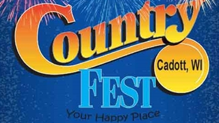 Country Fest in Cadott WI poster