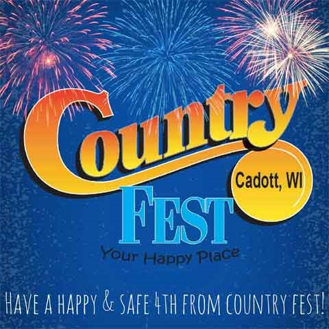 Country Fest in Cadott WI poster - Photo by: http://countryfest.com