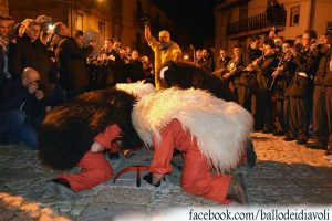 Dance of the Devils in Prizzi Sicily - Photo by: Facebook.com/ballodeidiavoli