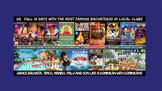 Dominican Republic Bachata Festival and Dance poster