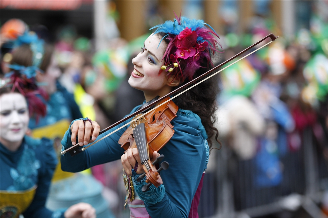 St. Patrick's Festival Dublin, Ireland - Courtesy of St. Patrick's Festival - Press Gallery, Dublin - Ireland