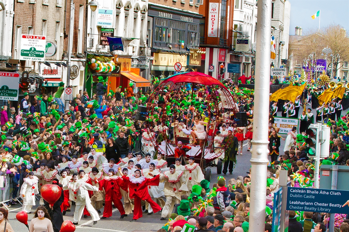 St. Patrick's Festival Dublin, Ireland - Photo: Reji Sasidharan - Courtesy of St. Patrick's Festival - Press Gallery, Dublin - Ireland