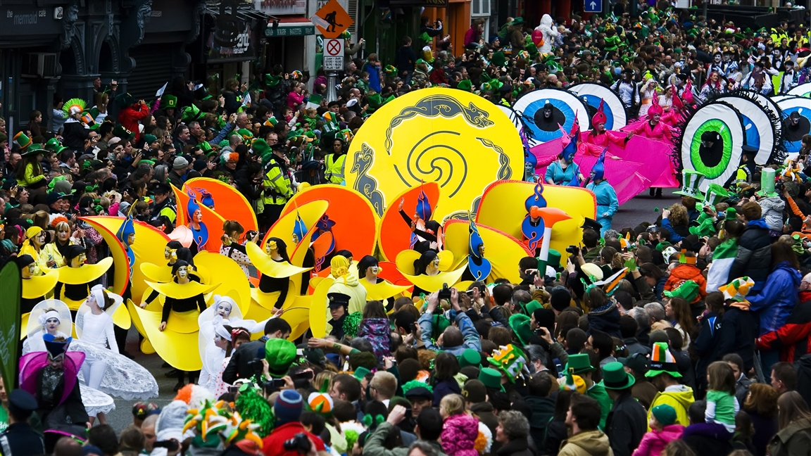 St. Patrick's Festival Dublin, Ireland - Photo: Adrian Sadlier - Courtesy of: St. Patrick's Festival, Press Galleryl. Dublin - Ireland