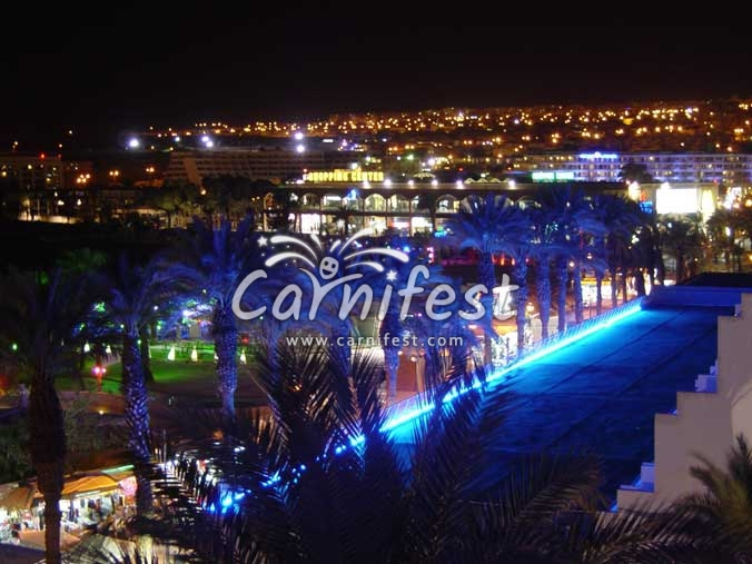 Eilat by night - CarniFest Online Photo © All Rights Reserved