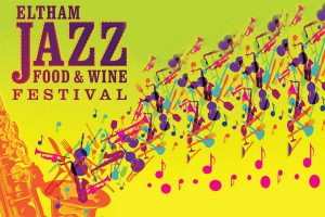 Eltham Jazz Food & Wine Festival poster - Photo: www.elthamjazz.com.au