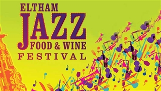 Eltham Jazz Food & Wine Festival poster