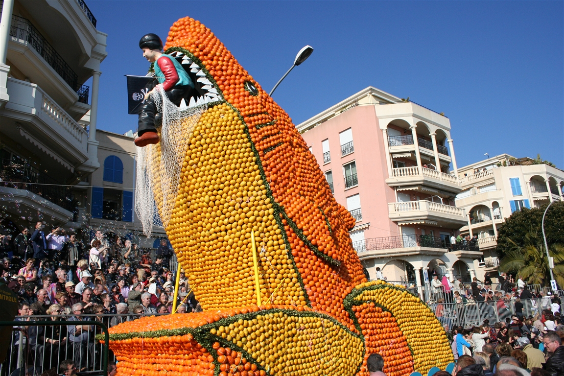 Fête du Citron, Menton, France - Photo courtesy of: Office de tourisme Menton - www.tourisme-menton.fr