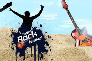 The Fattal Rock Festival in Eilat - Poster