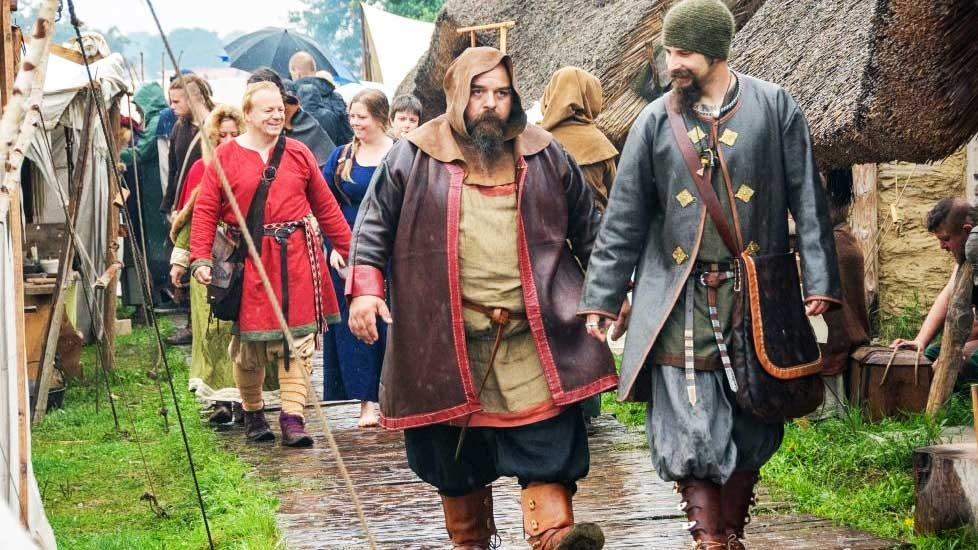 Festival of Slavs and Vikings in Wolin - Photo: jomsborg-vineta.com