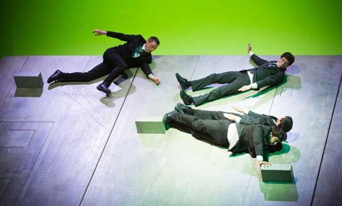 Figurentheater Festival, Aurélien Bory, Frankreich - Photo by: Erich Malter, 2013