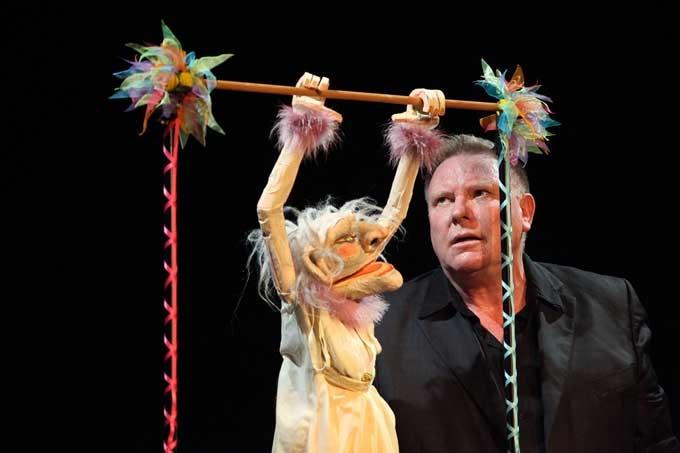Figurentheater fest, Neville Tranter, Australien/Niederlande - Photo:Georg Pöhlein