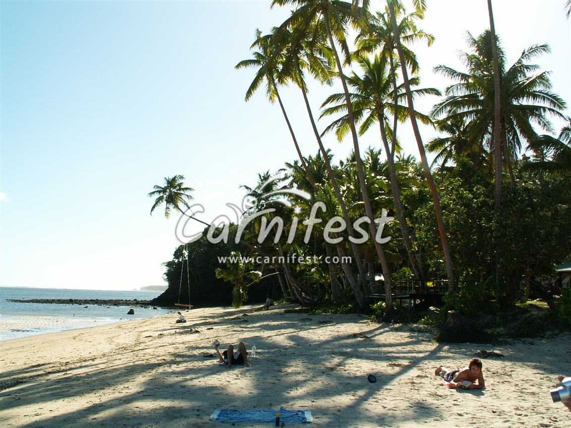 Fiji sea view - CarniFest Online Photo © All Rights Reserved