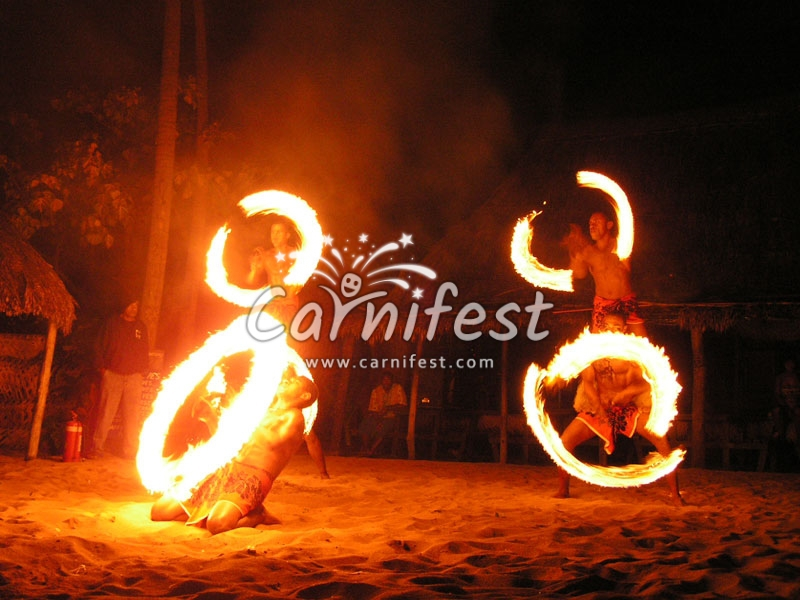 Fire effects - CarniFest Online Photo © All Rights Reserved