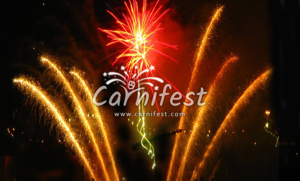Fireworks display - CarniFest Online Photo © All Rights Reserved
