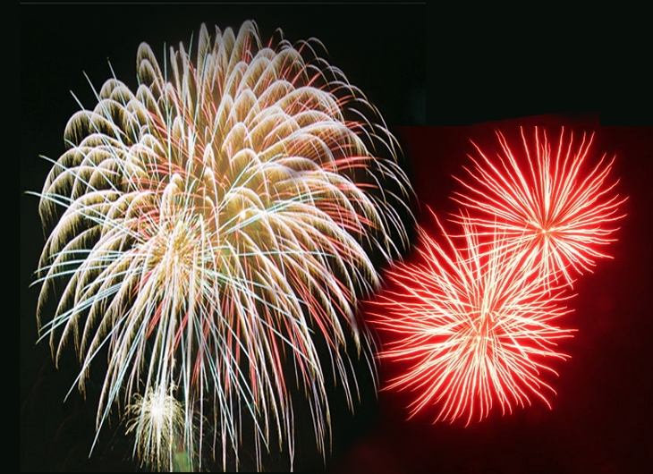 Fireworks - Photo by: Microdot / via morguefile.com
