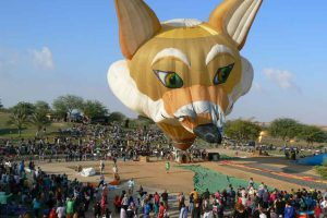 From the Gilboa to the Negev International Hot Air Balloon Festival - Photo By: Livnat Ginzburg, courtesy of Orna Ben Haim PR