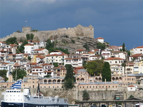 The city of Kavala, North Greece