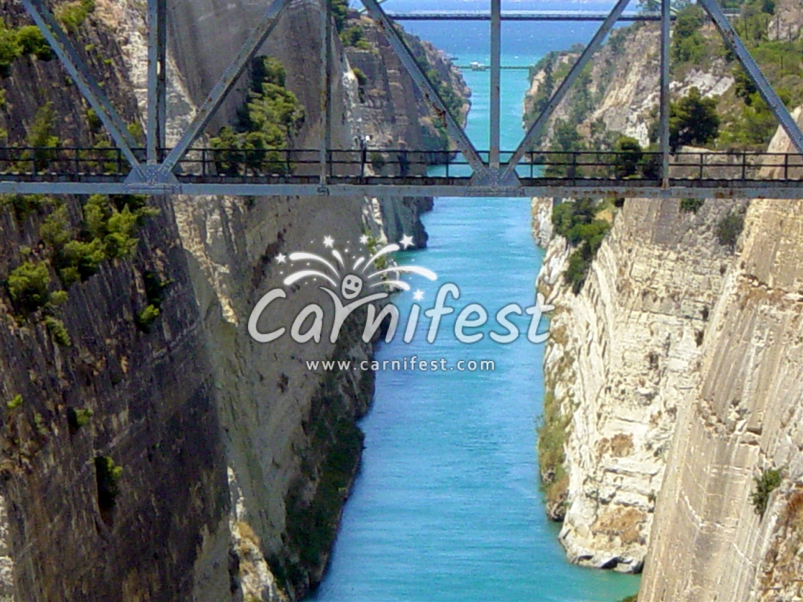 Greece Korinthos canal - Photo by CarniFest Online © All Rights Reserved