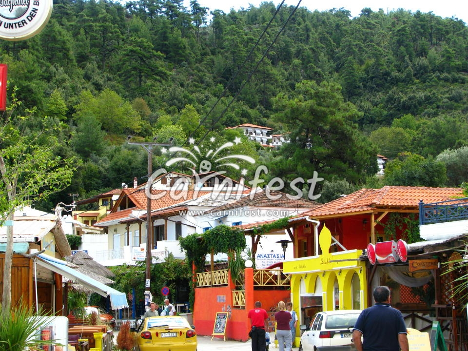 Greece,Thassos island - CarniFest Online © All Rights Reserved