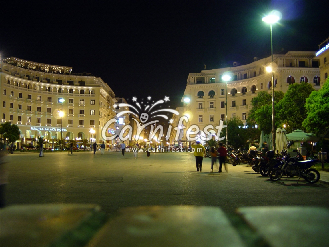 Greece, Aristotelous square  in Thessaloniki - Photo by CarniFest Online © All Rights Reserved