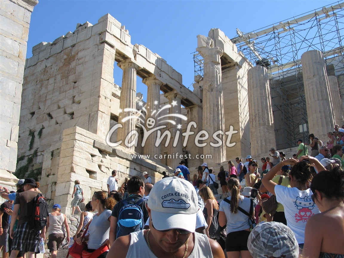 Greece, Athens, Acropolis, Partenon - CarniFest Online Photo © All Rights Reserved
