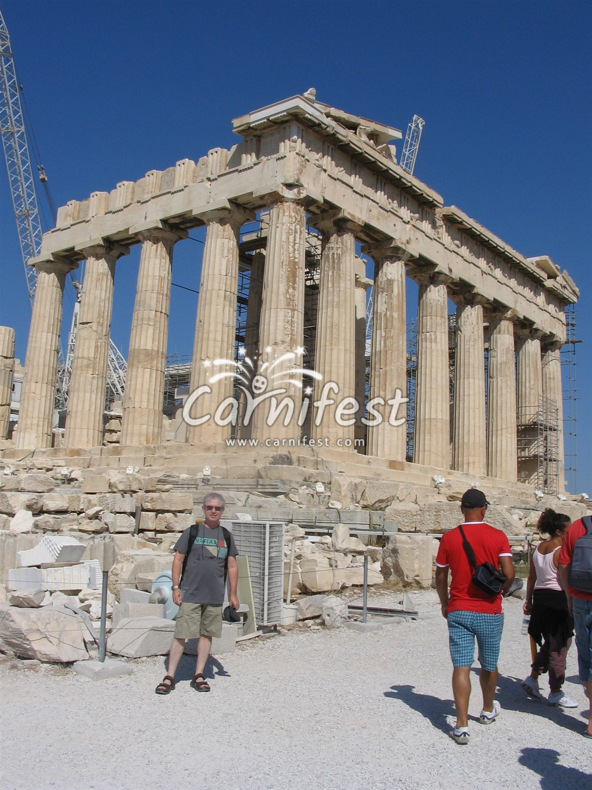 Greece, Athens, Acropolis - CarniFest Online © All Rights Reserved
