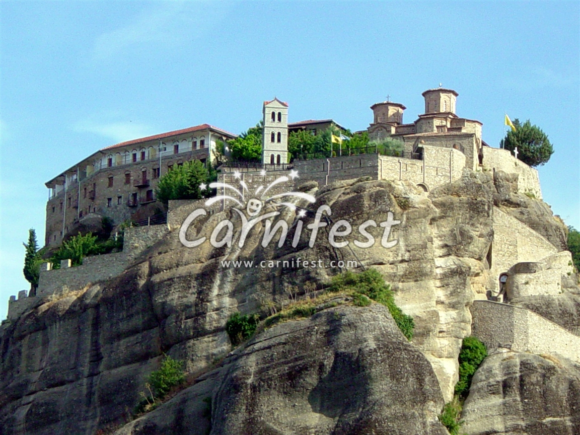 Greece Meteora - CarniFest Online © All Rights Reserved