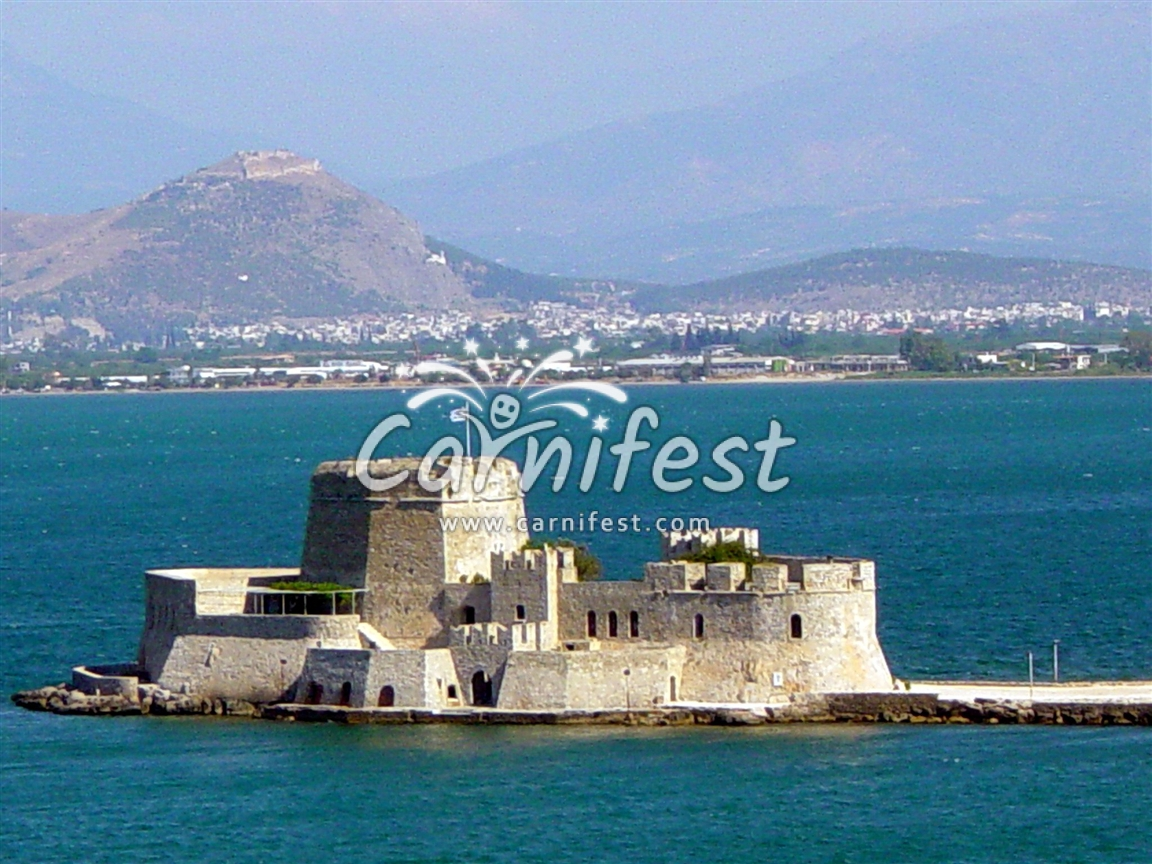 Greece, Nafplio castle - CarniFest Online © All Rights Reserved
