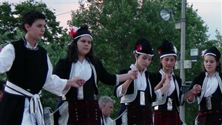 Greece, Traditional dance  in Thessaloniki