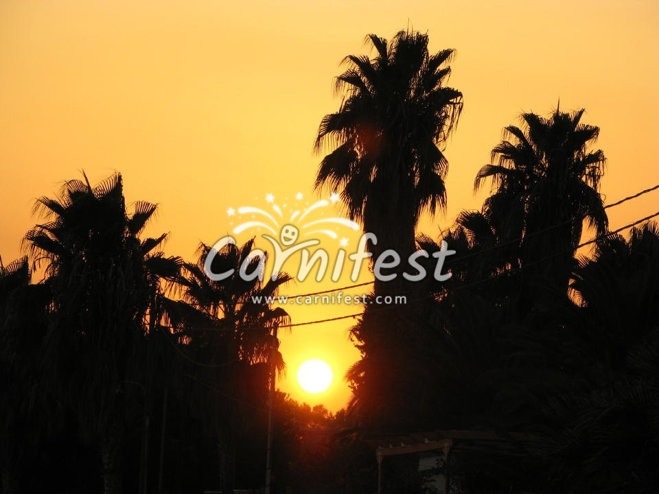 Greece sunset - CarniFest Online © All Rights Reserved