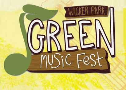 Green Music Fest in Wicker Park Chicago - logo - Photo by: www.greenmusicfestchicago.com